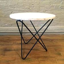 Wrought Iron Patio Side Table Metal Mesh Patio Side Table Crosley Retro Made Small End