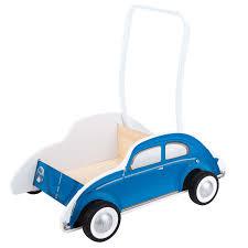 baby blue volkswagen beetle blue volkswagen beetle buggy baby walker by hape levida toys