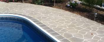 Resurface Concrete Patio Pinestone U2013 Exterior Elements