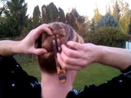 hair fork how to use a hair fork figure eight bun