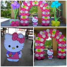 Hello Kitty Party Decorations 73 Best Hello Kitty Images On Pinterest Balloon Decorations