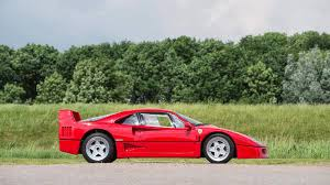f40 auction a with pink floyd provenance david gilmour s f40 up for