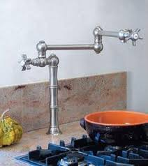 pot filler kitchen faucet a guide to kitchen pot filler faucets is introduced by homethangs