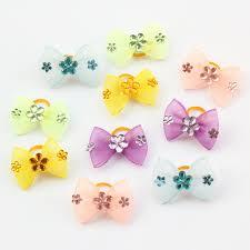 mesh ribbon wholesale armi store handmade mini mesh ribbon dog bow dog grooming bows