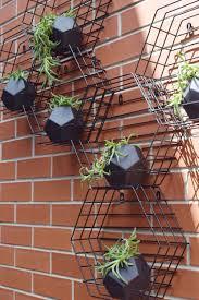 Metal Wall Planter by Kmart Hack Beehive Hexagon Vertical Garden Beehive Planters