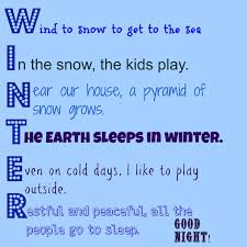 Halloween Acrostic Poems Five In A Row Stopping By Woods On A Snowy Evening The Usual Mayhem