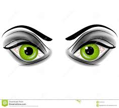 green eyes clipart halloween pencil and in color green eyes