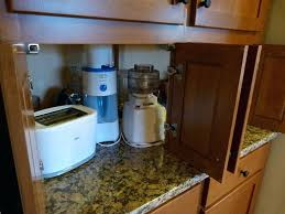 kitchen appliance storage cabinet appliance garage cabinet garage cabinet ideas kitchen traditional
