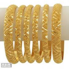 gold set in pakistan original set of 4 gold plated bangles in pakistan