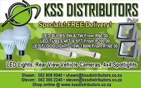 kss distributors pty ltd led lights kempton park gauteng