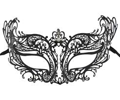 masquarade mask metal filigree masquerade mask
