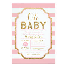 baby shower baby girl shower invitations zazzle