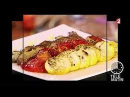 recette cuisine 2 telematin gourmand tian de légumes provençaux