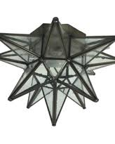 moravian star ceiling light amazing deal on moravian star ceiling light flush mount frosted