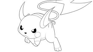 pokemon coloring pages raichu coloring pokemon coloring pages
