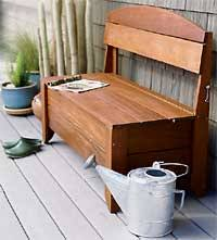Free Storage Bench Plans by Outdoor Free Plan For Storage Seat Bench Woodworking Plans And