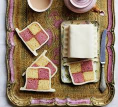 easiest ever battenberg recipe bbc good food