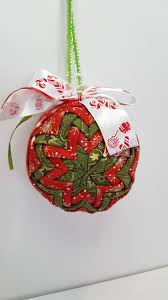 Quilted Christmas Ornaments To Make - quilted 3