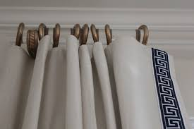 curtain wood rings lowes particular white rods with bronze for