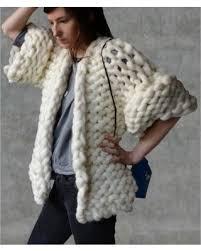 knitted sweater sale cardigan wool big yarn sweater chunky knitted