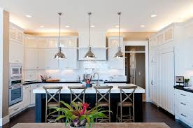 Cottage Pendant Lighting Cottage Kitchen With Quartz Counters By Candlelight Homes Zillow