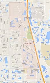 Fort Myers Florida Map by Three Oaks Real Estate Area Overview And Amenities