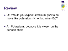 Bromine On The Periodic Table Atomic Structure U0026 The Periodic Table Ppt Download
