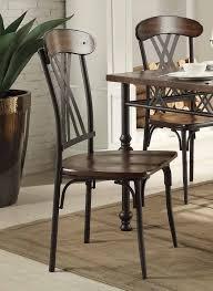 homelegance loyalton counter height dining set wood metal 5149
