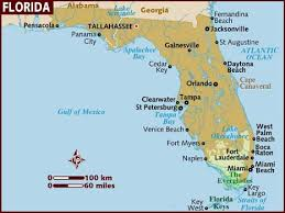 map usa lonely planet map of florida