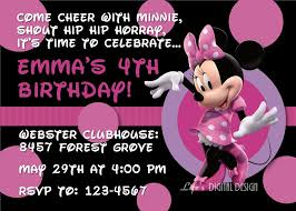 Free Printable Minnie Mouse Invitation Template by Free Printable Minnie Mouse Invitations Template Best Template