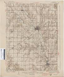 San Francisco Topographic Map by Nebraska Historical Topographic Maps Perry Castañeda Map