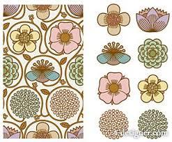 korean design 4 designer korean pattern background vector material 7