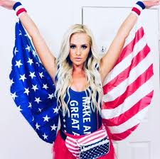tomi lahren actually thinks this costume is patriotic the