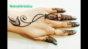 rings design simple easy unique henna mehndi design ornamental finger rings