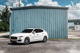 maserati granturismo white black rims ag luxury wheels maserati levante forged wheels