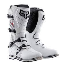 Fox Racing F3 Motocross Boot White Super Mx