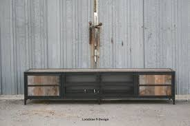Credenza Tv Console Buy A Hand Made Rustic Industrial Media Console Tv Stand Or