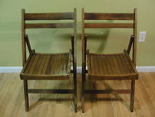 Vintage Wood Chairs Vintage Folding Chair Ebay