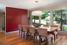 Fab Red Accent Walls In Dining Rooms Home Design Lover - Dining room accent wall