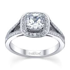 rings setting images Vatche 1015 halo split shank engagement ring mounting jpg