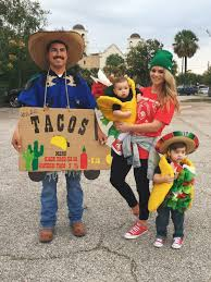 Food Costumes Kids Food Drink Taco Costume Taco Family Halloween Costume Food Truck