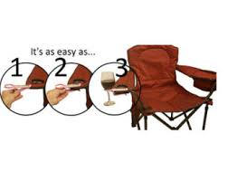 Armchair Drink Holder Wine Glass Cup Holder For An Outdoor Chair Perfect Gift The