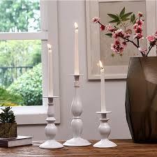 bougeoir mariage cristal de mariage lumière de thé bougeoir en verre chandelier en