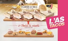 ton cuisine personnalisé l as tacos à nantes carte menu et photos