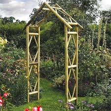 wooden arch for garden exhort me