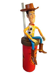 articulated cup straw woody toy story