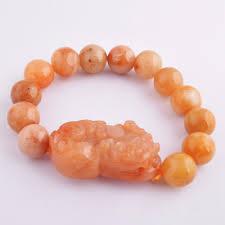 feng shui yellow feng shui yellow jade pi yao pi xiu bracelet good quality m1028 in