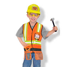 costume for kids doug construction worker costume kids