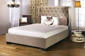 white upholstered bed chic white bathroom design with white