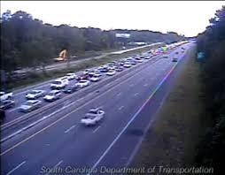 Interstate 26 Map Normal Traffic Patterns Resume Along Eastbound Interstate 26